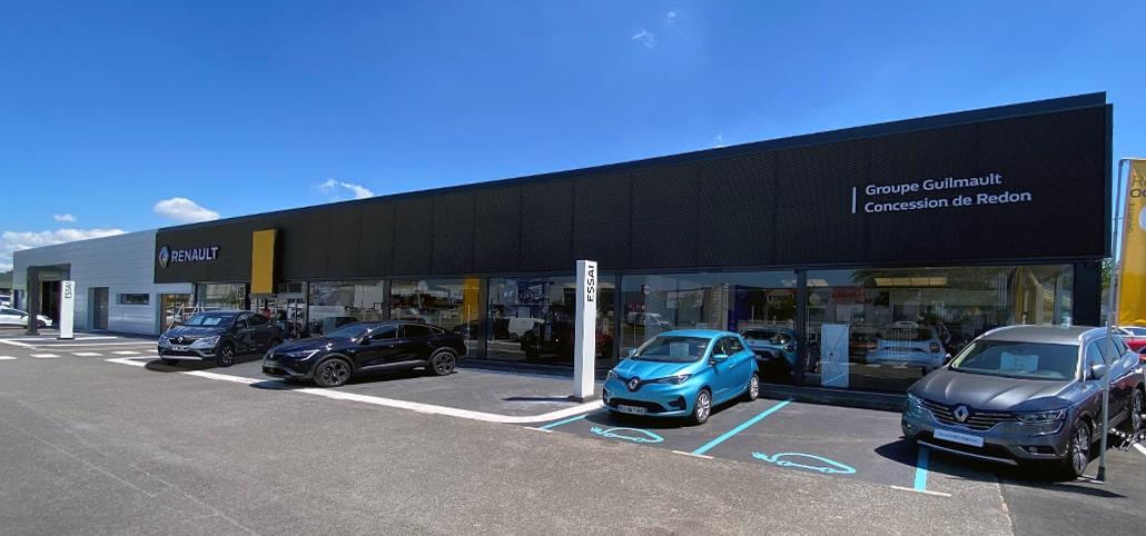Garage Renault Redon